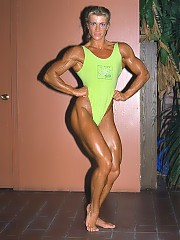 Anja Langer have a good combination of upper and lower body