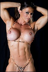 Sheila Rock IFBB Pro Figure Competitor