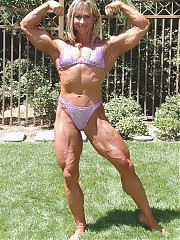Female fantasy muscle.