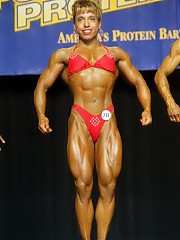 Bodybuilding women at the Nationals Championships